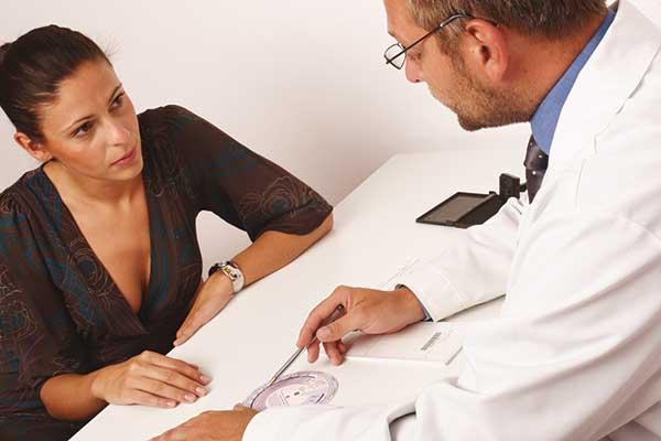 Dr. y paciente